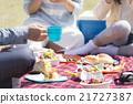 和家人一起野餐 21727387