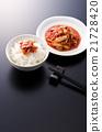 朝鲜泡菜 韩国菜 米饭 21728420