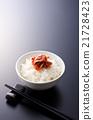 朝鲜泡菜 韩国菜 米饭 21728423
