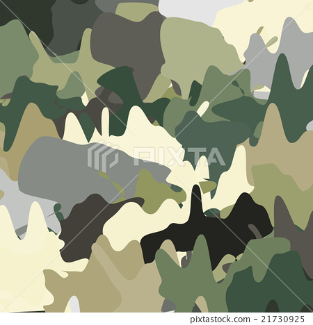 Illustration of camouflage color pattern 21730925
