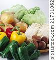 黃綠色蔬果 蔬菜 裝配 21731062