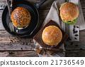 Homemade veggie burger 21736549