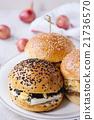 Homemade veggie burger 21736570