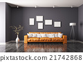 Modern interior of living room 3d rendering 21742868