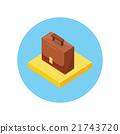Case Portfolio Isometric Design 21743720