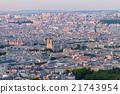 Birdeye view of Paris 21743954