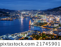 Night view of Nagasaki 21745901