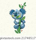 vector, cartoon, tree 21746517