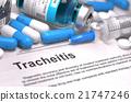 Tracheitis Diagnosis. Medical Concept. 21747246