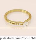 Diamond gold ring 21758769