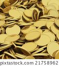Golden coins background 21758962