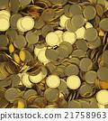 Golden coins background 21758963