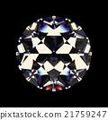 Shiny white diamond 21759247