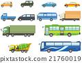 白底 微型面包车 本地公共汽车 21760019