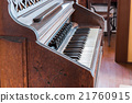antique piano keys and wood vintage style. 21760915