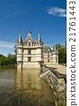 城堡 宮殿 湖泊 21761443