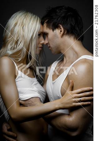 sexy couple - stock photo [21762308] - pixta