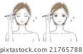 插圖3女性眉毛 21765788