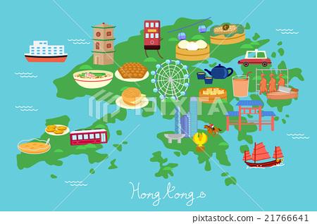 Hong Kong travel element 21766641