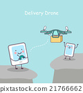 smartphone and tablet, delivery drone 21766662
