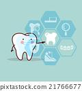 牙科 手 插圖 21766677