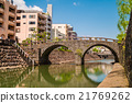 Meganebashi or Spectacles Bridge in Nagasaki 21769262