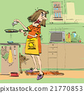 anger, kitchen, cooking 21770853