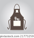 Apron icon, kitchen cooking sign 21773259