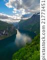cloudscape, fjord, landscape 21773451