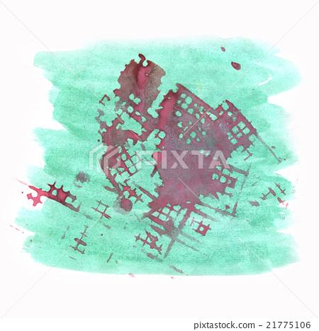 paint watercolour splatter watercolors spot purple 21775106