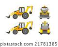Excavator number one 21781385