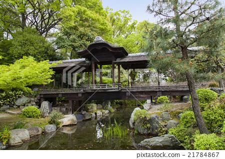 渉成園 (印月 연못과 回棹廊) 21784867