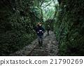 雙人 已廢棄的鐵路線 徒步旅行 21790269