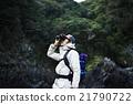 男性 双目 双筒望远镜 21790722