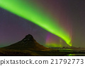 Beautiful aurora dancing  21792773