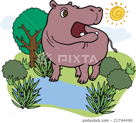 animal, animals, hippo 21794490