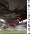 The american football players in action 21800560