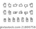 hand, icon, icons 21800756