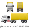 Vector heavy truck 21800810
