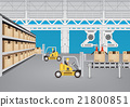 Production line vector 21800851