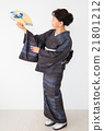 女性 日本舞 舞 21801212