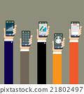 hand phone concept 21802497