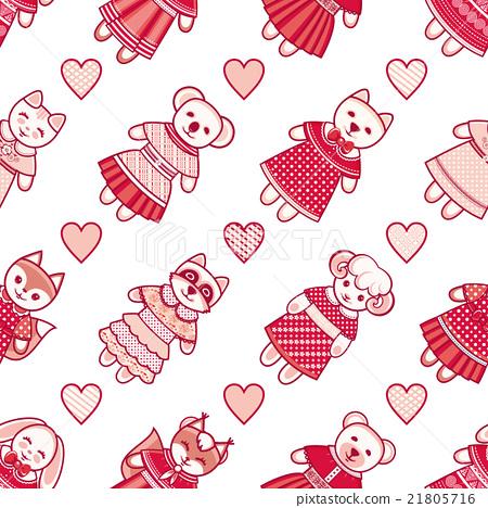 Animal. Seamless pattern.  21805716