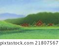 파스텔 일본의 풍경 21807567