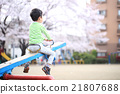 公園 蹺蹺板 幼兒 21807688