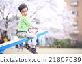 公園 蹺蹺板 幼兒 21807689