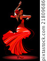 flamenco dancer 21809686