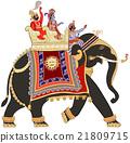 decorated indian elephant 21809715