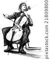 violoncellist 21809860