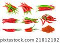 chili isolated on white background 21812192